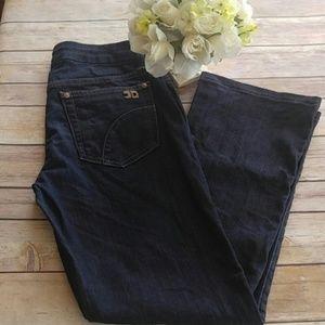 Joe's Jeans Honey Fit Dark Wash Cropped Jeans EUC
